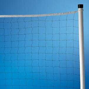Tecno sport instalaciones deportivas postes y redes de voleibol red de voleibol playa 2 5 mm - Red voley piscina ...