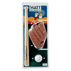SET BASEBALL WOOD 3