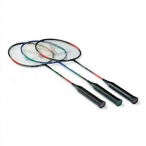 RAQUETA BADMINTON B-STEEL. Pack 6.