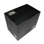 WOODEN PLYO BOX BLACK